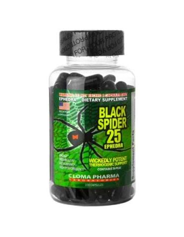 Cloma Pharma Black Spider 100 капс