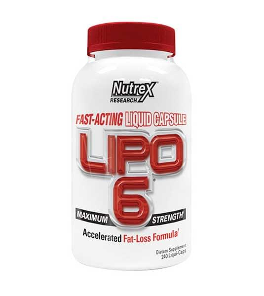 Nutrex Lipo-6 240 капс