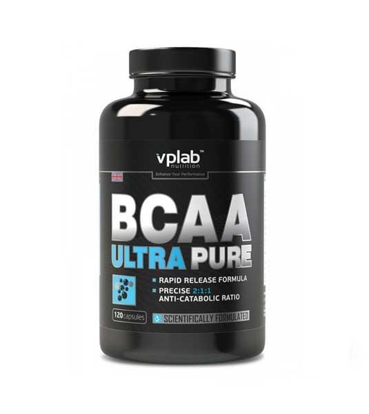 VPlab Ultra Pure BCAA 120 капс