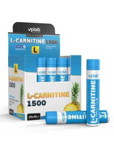 VPlab L-Carnitine 1500 20 amp*25 ml