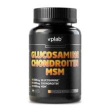 VPlab Glucosamine Chondroitin MSM 90 таб