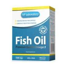 VPlab Fish Oil Omega 3 — 60 капс