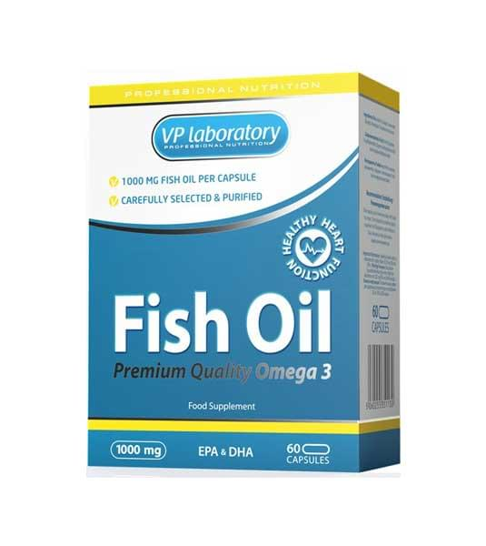VPlab Fish Oil Omega 3 — 60 капс