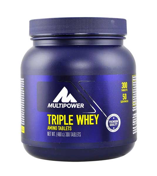 Multipower Triple Whey 300 таб