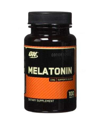 Optimum Nutrition Melatonin 100 таб | Мелатонин 100 таб 3мг