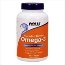 NOW Omega-3 200 капс