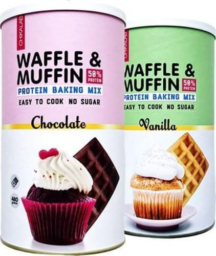 CHIKALAB Waffle & Muffin (Мафин) Protein Baking Mix 480 gr