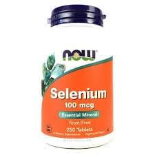 NOW Foods Selenium 100mcg 250 tab