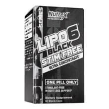 Nutrex Lipo-6 Black Stim-Free 60 капс