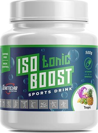 Изотоник GeneticLab Isotonic Boost 500 г 20 порций