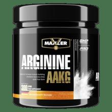 Аргинин альфа-кетоглютарат Maxler Arginine AAKG 300 г 60 порций