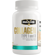 Коллаген Maxler Collagen Type 1 and 3 90 таб 30 порций