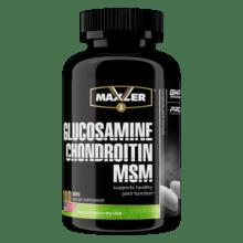Глюкозамин Maxler Glucosamine Chondroitin MSM 180 таб 60 порций
