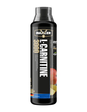 Карнитин Maxler L-Carnitine Comfortable Shape 3000 Bottle 25 порций