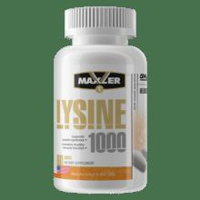 Лизин Maxler Lysine 1000 60 таб 60 порций