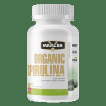 Maxler Organic Spirulina 500 мг (180 таб) 60 порций