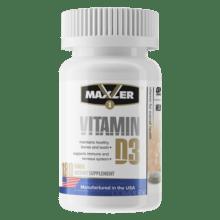 Maxler Vitamin D3180 таб 180 порций