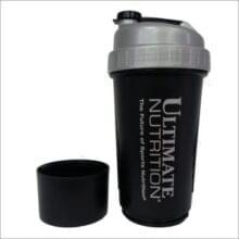 Ultimate Nutrition шейкер, 700 мл с доп отсеком